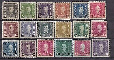 Bosnia Herzeg - 1917 - Michel 124/141  - MNH - 160 Euro