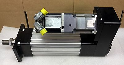 PARKER ET100 SERIES SCREW-DRIVEN ELECTRIC CYLINDER LINEAR ACTUATOR NEW
