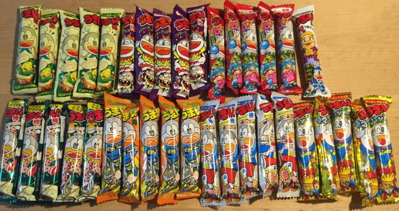 Umaibo Economy Pack 7 Flavors x 3 or 5 = 21 or 35 bars! Japan Snack/Dagashi