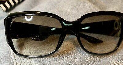Christian Dior Black Sunglasses Dior Night 3 AM1 Rhinestone Plates Pre Owned
