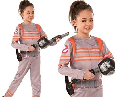 Ghostbuster Film Halloween Mädchen Kostüm Kinder Kostüm Outfit Neu