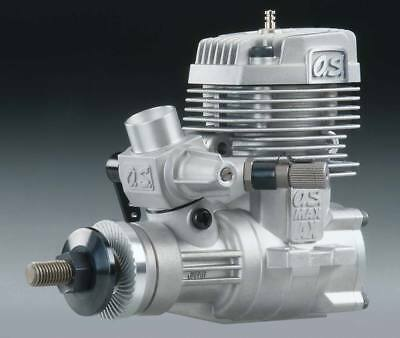 OS 55 .55 AX Two 2 Stroke Nitro RC Airplane Engine With Muffler 55AX OSMG0557 2 Stroke Aircraft Engine