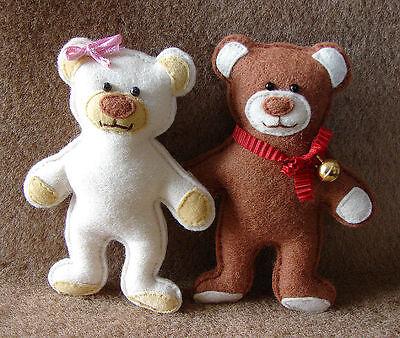 Puppe Kleidung nähen Schnittmuster Teddy Schürze KS Schnitt Anleitung Teddy