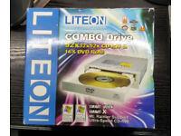 LITEON Combo Drive -- 52 x CD-RW 16 x DVD-ROM