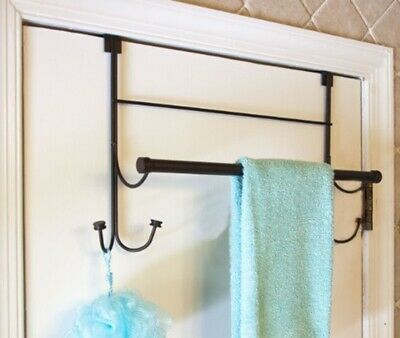 Over the Door Hook with Towel Bar Combo, Oil Rubbed Bronze