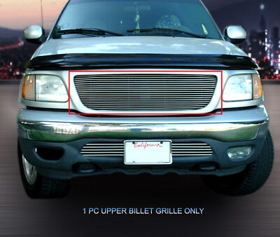 - Fits 99-03 Ford F-150/Harley Davidson/Lightning Polished Billet Grille Insert