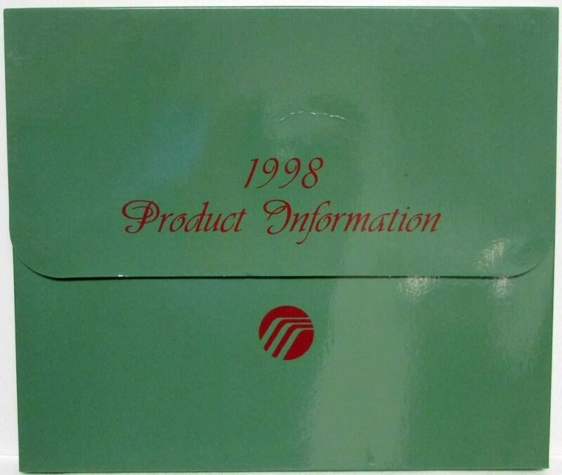 1998 Mercury Press Kit - Grand Marquis Mystique