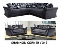 Corner sofa or 3+2 sofas, fabric or leather, many to choose from, go thru the pics to choose