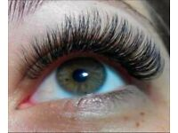 EXTENTION and THICKENING EYELASHES Nails Pedicure Manicure