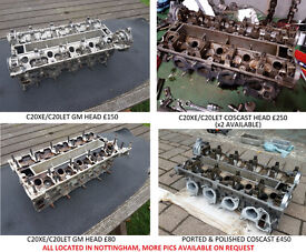 Coscast & GM cylinder heads (standard & modified) C20XE C20LET redtop Nova Corsa Astra Cavalier GSi