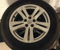 2012 Hyundai SantaFe Mag Wheels & Tires