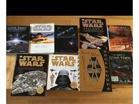 STAR WARS/STAR TREK BOOK COLLECTION INCLUDING RARE STAR WARS CHRONICLES