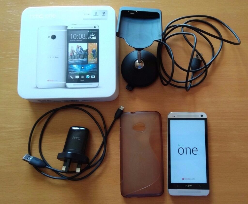 HTC One M7 32GB 4G (Unlockedin Old Trafford, ManchesterGumtree - This item has very good condition. Package Content 1 x HTC One M7 Silver 1 x Charger and cable 1 x Original box Item is in very good use condition. Car holder, phone case, car charger and cable NOT included