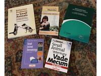 Veterinary books - various topics