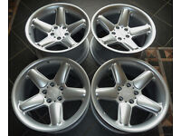 18'' Staggered AC Schnitzer Alloy wheels * Type II * 5x120