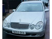 Mercedes e220 elegance MOT July 2018
