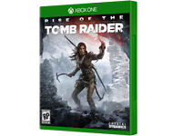 XBOX ONE GAME-- RISE OF THE TOMB RAIDER -- IN BRAND NEW CONDITION