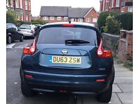 2013 PLATE- NISSAN JUKE-TECKNA BLUE-GOOD CONDITION - OPEN TO OFFERS