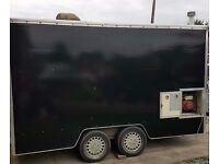 Catering trailer for sale fully loaded and ready to go