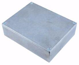 Hammond Manufacturing 29830PSLA Galvanised Diecast Enclosure Case 120 x 95 x 34m.........Brand New