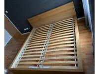 IKEA MALM Super King Size Bed Frame in Oak