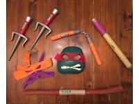 Ninja turtles weapons