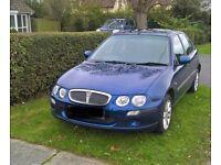 2002 blue rover 25, 1.4