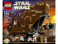 Lego Star Wars Sandcrawler 75059 brand new and sealed. Now retired