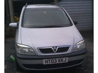 """2003 Vauxhall Zafira 7 seater MPV """"Model A the type that do not burst into flames"""" (Bath)"""
