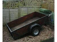 """Trailer 6'6"""" x 4' approx'"""