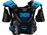 New 2017 Adult Thor Guardian Body Armour Motocross Enduro Blue M/L