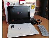"LG DP450 7"" Portable DVD Player DIVX MP3 MPEG4"