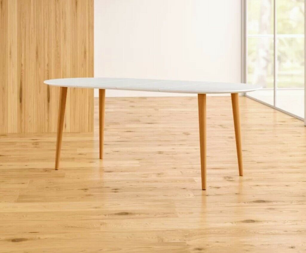 Brand New In Box 4 8 Seater Extending Dining Table Scandinavian Style Rrp 400 Stratford London Gumtree