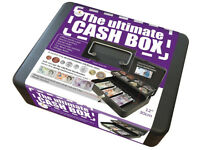 BRAND NEW ULTIMATE CASH BOX*LARGE SIZE*12 INCH/30cm SIZE*METAL MATERIAL*2 KEYS*