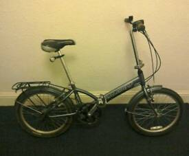 Raleigh Parkway Lite Folding Bike - 20 inch