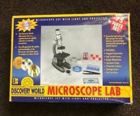 Microscope Set by Discovery World