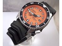"SEIKO DIVERS WATCH "" super mod"""