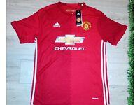 Adidas Man Utd Manchester United Home Shirt 16/17 New