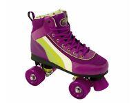 Rio Roller Skates / Purple size 2 UK Ideal Christmas present!