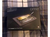 Wacom Cintiq 13HD Creative Pen and Touch Screen Interactive Display - 13 HD TOUCH