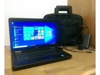 dell latitude e5440 laptop, charger and new bag