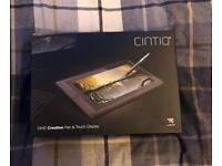 Wacom Cintiq 13HD Creative Pen & Touch Screen Interactive Display 13 HD TOUCH