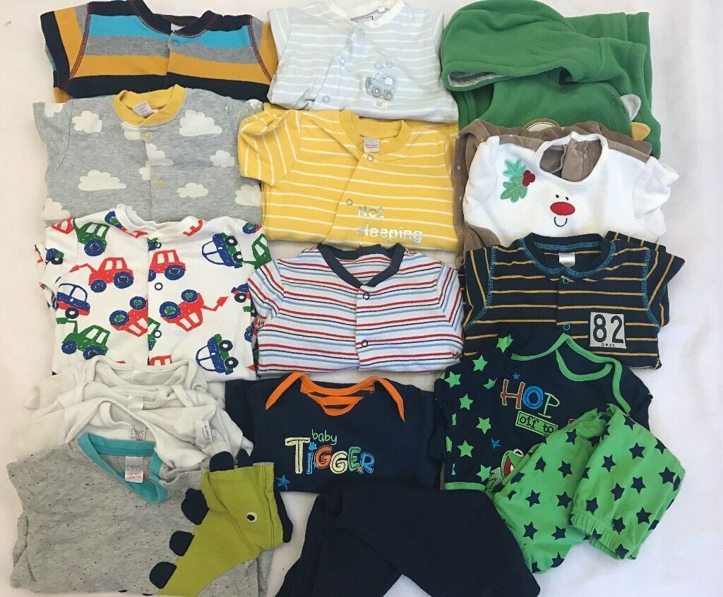 Baby Boy Bundle 9 12 usedin Wembley, LondonGumtree - Its used baby Boy/unisex Clothes bundle from 9 12 months Mainly from Next and few are from George and John Lewis. Total number of pieces 17 and all pictured individually for more clarity. In a very good and clean condition freshly washed.From pet and...