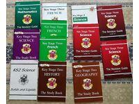 Various KS2 and KS3 Study Books