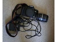 canon 500d + kit lens 18-55mm