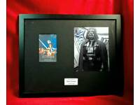 Darth Vader memorabilia, Dave Prowse autographed photo