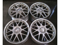 R18 Genuine BBS RC306 Alloy wheels 5x112 ( Speedline OZ ) AUDI VW Seat