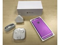 Boxed Purple Apple iPhone 6 16GB Factory Unlocked Mobile Phone + Warranty