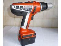 Black & Decker HP128F3 12v 2xSpeed Cordless Combi Drill