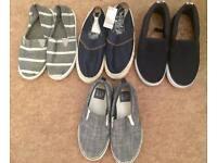 Bundle of boys shoes size 12 & 13 New / light use